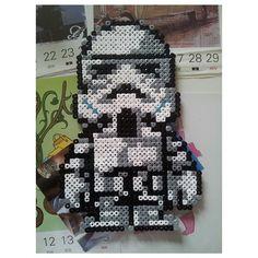 Stormtrooper hama beads by afendi