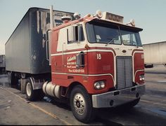 COE Peterbilt Style | I didn't see too many single axle trac… | Flickr