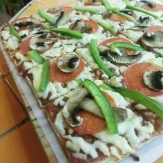 Pizza carnaval de venezia especialidad de san pietro con ingredientes naturales #pizza #eatpizza #ilovepizza