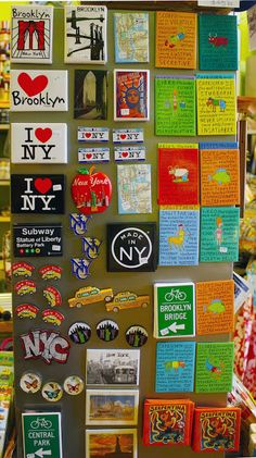Brooklyn Gifts & Souvenirs: New York City Souvenir and Zodiac magnets