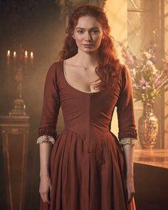 18th Century Dress, 18th Century Costume, 18th Century Fashion, Historical Costume, Historical Clothing, Acteurs Poldark, Demelza Poldark, Poldark Cast, Victorian Fashion