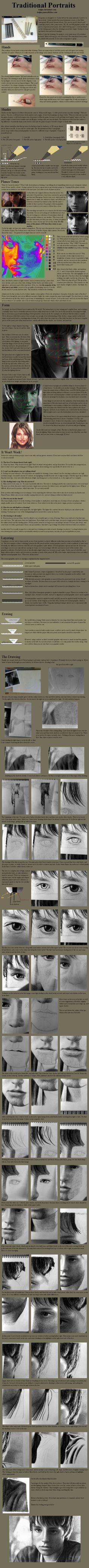 Tutorial - Graphite:Portraits by `treijim on deviantART