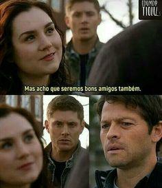 Destiel, Supernatural Series, Supernatural Funny, Spn Memes, Funny Memes, Series Movies, Series 3, Dean Castiel, Super Natural