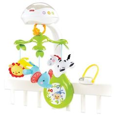 Fisher-Price® 3-in-1 Rainforest Friends Deluxe Projection Mobile - buybuyBaby.com