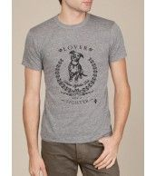 KindLabel Lover Not A Fighter - Heather Grey $25