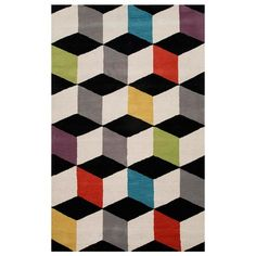 Colorful & graphic Rug