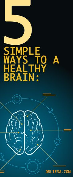 5 Simple Ways To A Healthy Brain