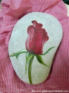 Presse-papier Rose en bouton