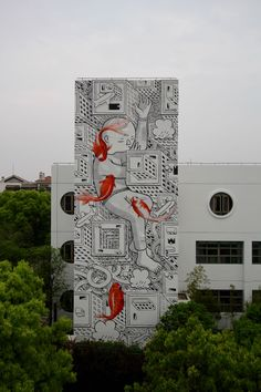 "StreetArtNews | ""Childhood dream"" by Millo in Shanghai, China"
