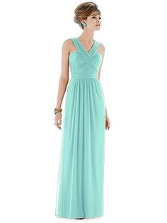 Long gown - Alfred Sung Style D678 http://www.dessy.com/dresses/bridesmaid/d678/