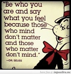 Wise Words From Dr Seuss