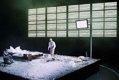 Blasted. Schaubuhne am Lehniner Platz, Berlin. Scenic design by Jan Pappelbaum. 2005