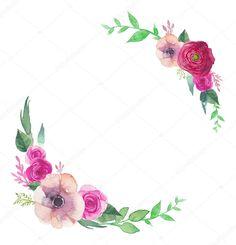 İndir - Çiçek blossom sulu boya seti — Stok İllüstrasyon #73028357
