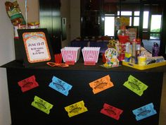Fun thematic ideas for displaying on your Information Counter