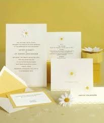 daisy wedding invitations - Google Search