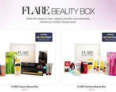 FLARE Spring Beauty Boxes