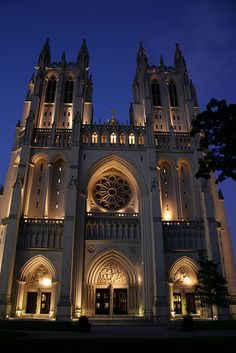 Union of the separation of church & state ~ National Cathedral