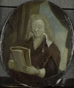 Portrait of Jan Six, Poet and Burgomaster of Amsterdam - Arnoud van Halen (1700 - 1732), after a print by Rembrandt,