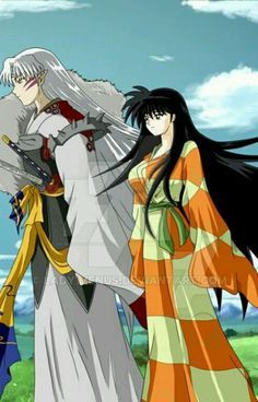 Image result for lord sesshomaru and rin