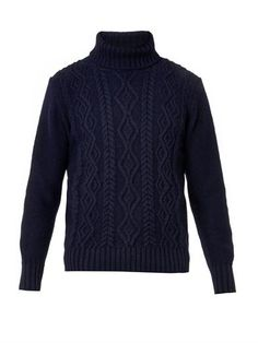 30468e7b410 Inis Meain - Wool and cashmere-blend sweater クールスタイル