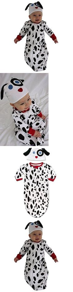 Other Baby and Toddler Clothing 1070: Sozo Unisex-Baby Newborn Dalmatian Bunting And Cap Set Black White 0-6 Months -> BUY IT NOW ONLY: $32.04 on eBay!