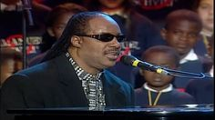 Stevie Wonder, Luciano Pavarotti & All Stars - Peace Wanted Just To Be F...