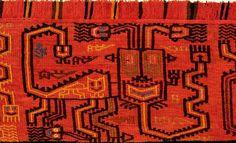 Paracas Textile (Pre-Inca Peru)