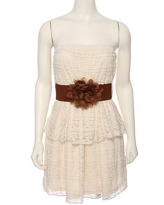 rue21 : 2 TIER SOLID CRCHT RIBBN  For Kyra/Haylee with a cardigan?