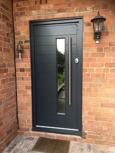 Here is a shot of one of our contemporary doors installed in a property in & Composite Doors in Cheshire | Reddish Joinery | Composite Doors ...