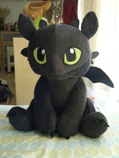 Build a Bear HTTYD 2 Toothless Plush by ShadoweonCollections. WANT!! OH GOD I WANT!!