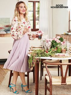 See Lauren Conrad's latest feature in Good Housekeeping magazine
