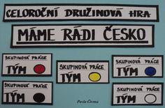 Celoroční družinová hra -  označovací cedulky ke skupinové práci (na nástěnku,...) Games, Historia, Gaming, Plays, Game, Toys