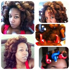 Curly mane • Have any of you tried a rod set? ❥ #curls #naturalhair #naturalherstory #teamnatural