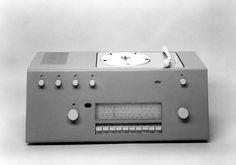 Braun AG Studio 1 - redio gravador - Hans Gugelot e Hebert Lindinger 1956