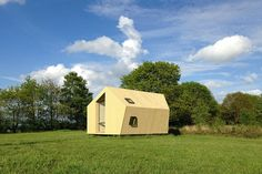 Trek-In Hicker's Cabins / MoodBuilders + Kristel Hermans Architectuur