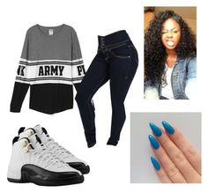 """""""Punkyd13 was here #Army life"""" by kjanae0421 ❤ liked on Polyvore featuring Retrò"""