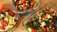 3 filling salads - The Domestic Geek - YouTube