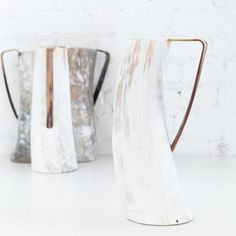 Ankole Cowhorn Pitcher