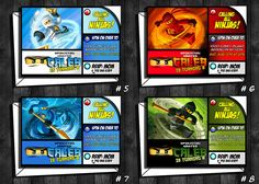 Ninjago Invitation Ninjago Eye Ninjago birthday by