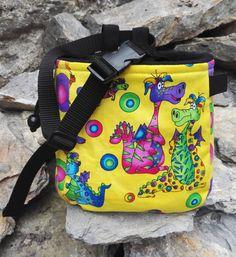 Rainbow Dragon Monster Chalk Bag Rock Climbing Bouldering