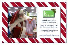 k. madison holiday card