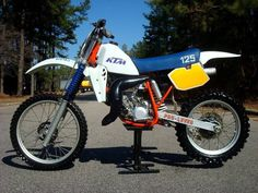 1984- KTM 125MX
