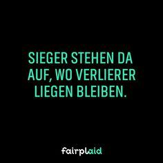 Markiere einen Sieger! #winner #sieger #nevergiveup #instamotivation #motivation #quote
