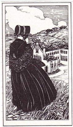 Jane views Thornfield in ruins