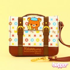 Rilakkuma Briefcase Pattern Wallet | Blippo Kawaii Shop