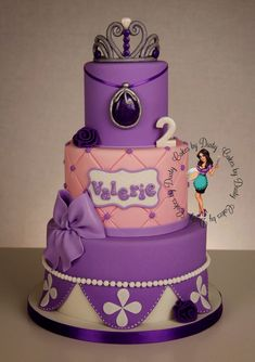 Cakes by Dusty: Valerie is 2