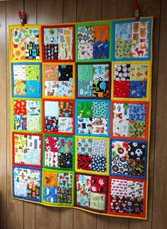 Finished this I Spy quilt last night. Baby Quilts Easy, Cute Quilts, Baby Boy Quilts, Scrappy Quilts, Baby Clothes Quilt, Children's Quilts, Quilting Designs, Quilting Tips, Quilting Tutorials