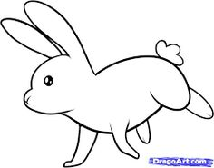Image result for rabbit simple drawing