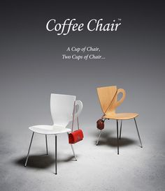 "Enjoy ""A Cup of Chair"" and Modern Design: Coffee Chair"