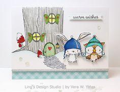 Ling's Design Studio: Purple Onion Designs Warm Wishes